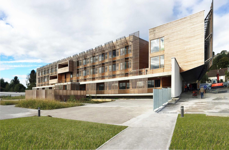 Ehpad coucy le ch teau auffrique atelier d for Architecture unite alzheimer