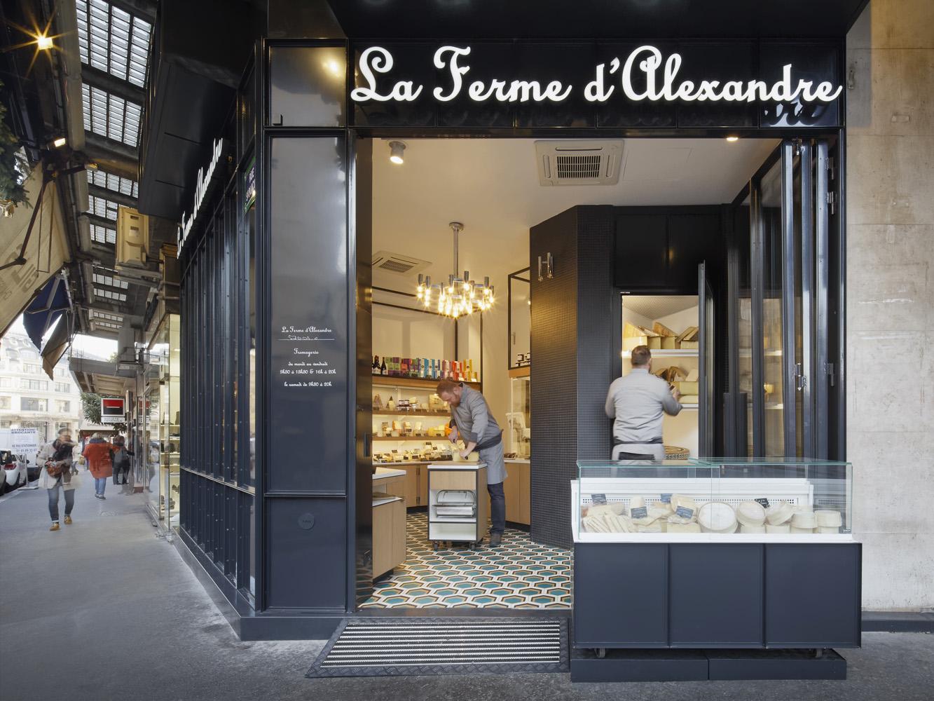 ATELIER CALI LA FERME D'ALEXANDRE ARCHITECTURE BOUTIQUE PARIS ©camillegharbi