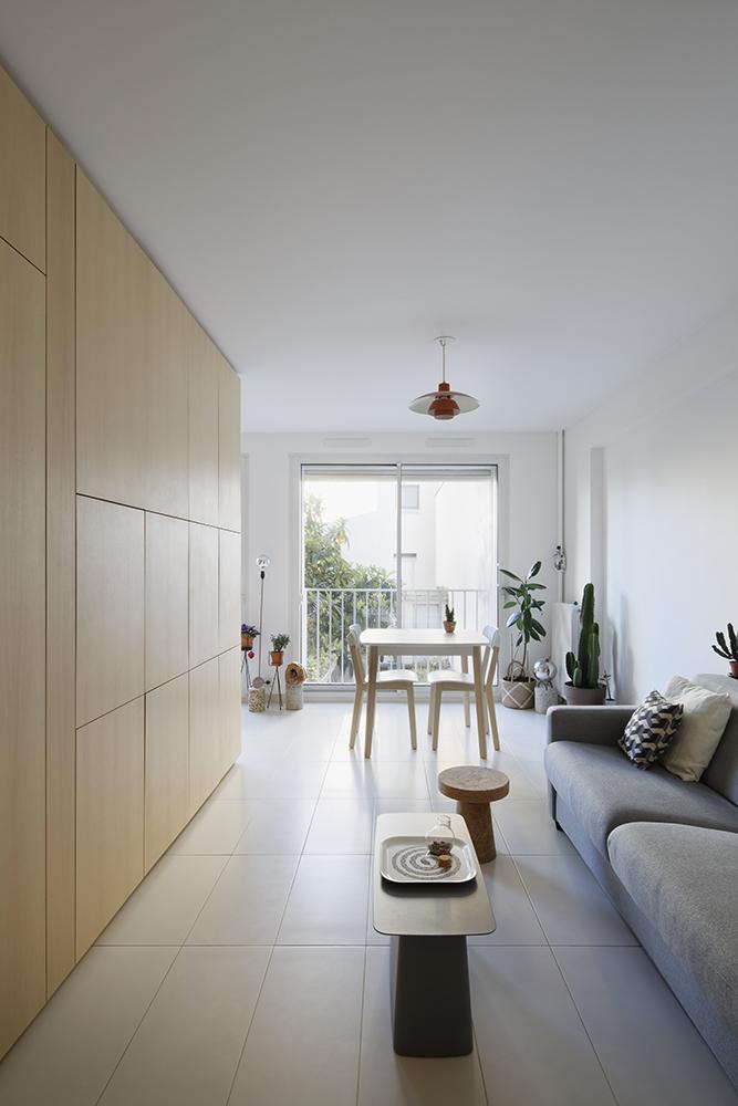 appartement atelier paris atelier d architecture cali. Black Bedroom Furniture Sets. Home Design Ideas