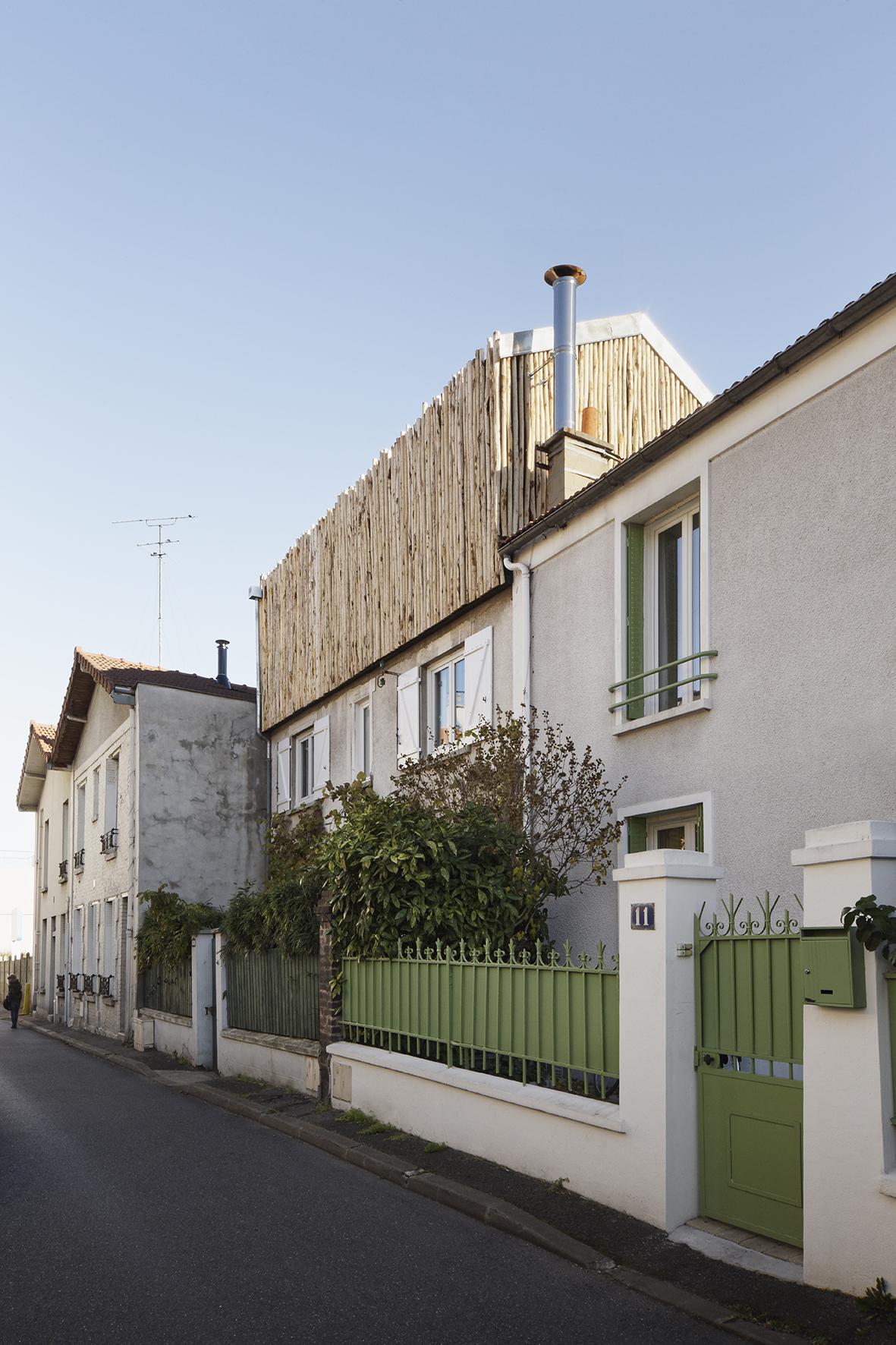 ATELIER CALI EXTENSION MAISON MALAKOF PARIS ARCHITECTURE ©camillegharbi